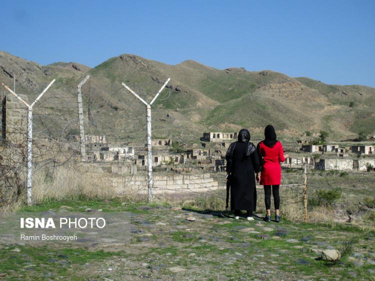 تصاویر جنگ قره باغ,عکس های جنگ ارمنستان و آذربایجان,تصاویری از تماشای جنگ قره باغ توسط مردم ایران