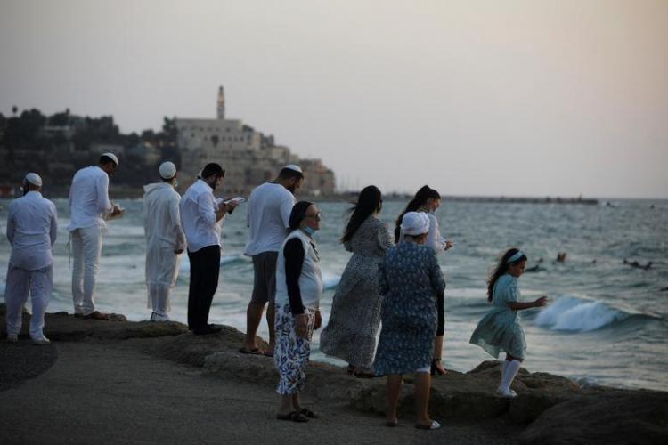 تصاویر سال نوی یهودیان جهان در دوران کرونایی,عکس های سال نوی یهودیان جهان,تصاویرعید روش هشانا