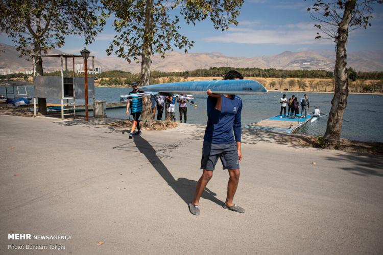 تصاویر مسابقات روئینگ قهرمانی کشور,عکس های مسابقات قایق سواری در چهلمین سالگرد دفاع مقدس,تصاویر مسابقات روئینگ
