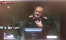 فرمانده سپاه: جنگ نظامی منتفی است/ دشمن بدنبال جنگ اقتصادی و روانی است