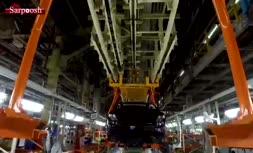 فیلم/ آغاز تولید خودروی جدید 'شاهین' سایپا
