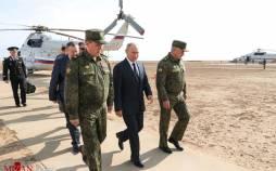 تصاویر بازدید ولادیمیر پوتین از رزمایش قفقاز ۲۰۲۰,عکس های رزمایش قفقاز ۲۰۲۰،تصاویر پوتین در رزمایش قفقاز ۲۰۲۰