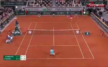 فیلم/ سیزدهمین قهرمانی 'رافائل نادال' در تنیس رولان گاروس فرانسه