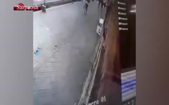 فیلم/ سرقت مسلحانه از یک طلافروشی در تبریز