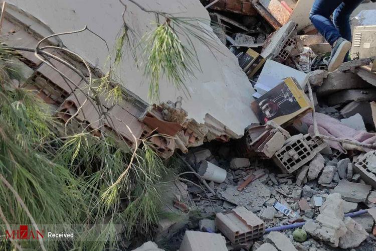 تصاویر زلزله در ترکیه,عکس های زلزله ترکیه,تصاویر زلزله در ازمیر ترکیه