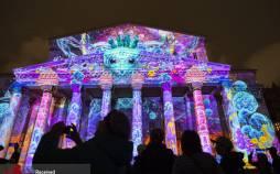 عکس های فستیوال نور در مسکو روسیه,تصاویری از جشنواره فستیوال نور در مسکو روسیه,هکس های جشنواره نور در روسیه