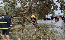 تصاویر طوفان در فیلیپین,عکس های طوفان 1 نوامبر در فیلیپین,تصاویر طوفان گونی در فیلیپین