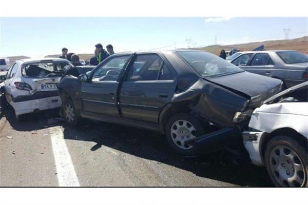 تصادف زنجیره ای در چابهار,اخبار حوادث,خبرهای حوادث,حوادث