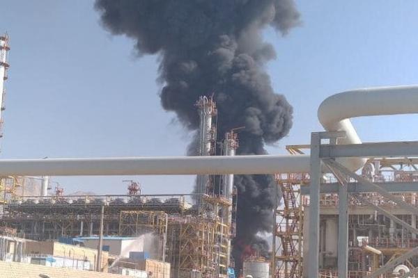 آتش سوزی در پتروشیمی ایلام,کار و کارگر,اخبار کار و کارگر,حوادث کار