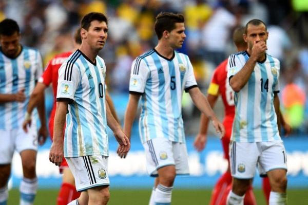 لیونل مسی و خاویر ماسکرانو,اخبار فوتبال,خبرهای فوتبال,اخبار فوتبالیست ها