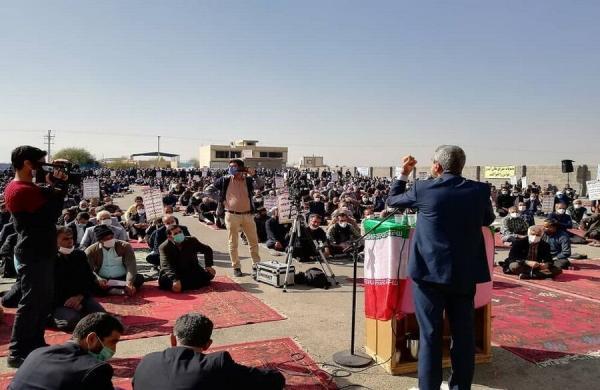 تجمع کشاورزان شرق اصفهان,کار و کارگر,اخبار کار و کارگر,اعتراض کارگران
