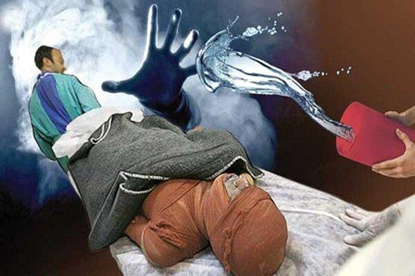 اسیدپاشی دختر ۱۷ ساله به پدرش در تهران,اخبار حوادث,خبرهای حوادث,جرم و جنایت