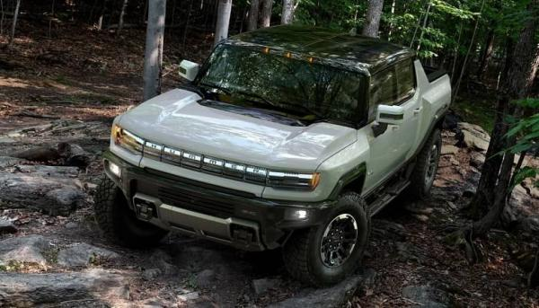 جی ام سی هامر EV مدل 2022,اخبار خودرو,خبرهای خودرو,مقایسه خودرو