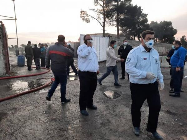 انفجار در محل غیرمجاز سوخت گیری گاز LPG,اخبار حوادث,خبرهای حوادث,حوادث امروز