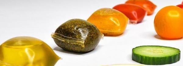 استفاده از جلبک دریایی در بسته بندی سسها/ تصاویر