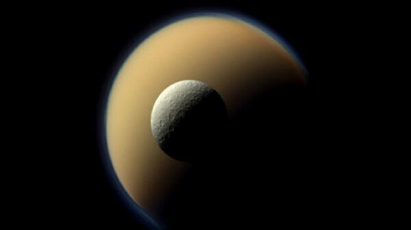 کشف مولکولی غیرمعمول در جو قمر زحل,اخبار علمی,خبرهای علمی,نجوم و فضا