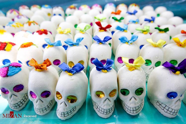 تصاویر جشن روز مردگان در مکزیک,عکس های جشن روز مردگان,تصاویر مردم مکزیک در جشن روز مردگان