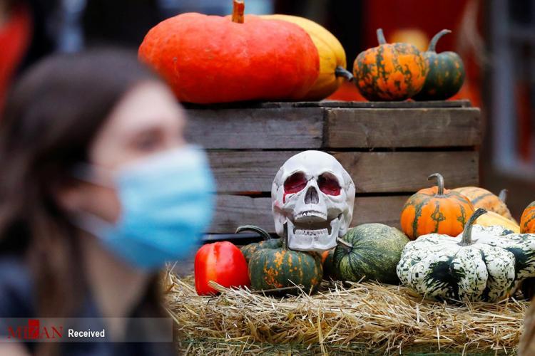 تصاویر جشن هالووین,عکس های جشن هالووین 2020,تصاویری از جشنهای هالووین در سراسر جهان