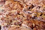 افزایش فروش اسکلت مرغ و گاو در تهران,اخبار اقتصادی,خبرهای اقتصادی,کشت و دام و صنعت