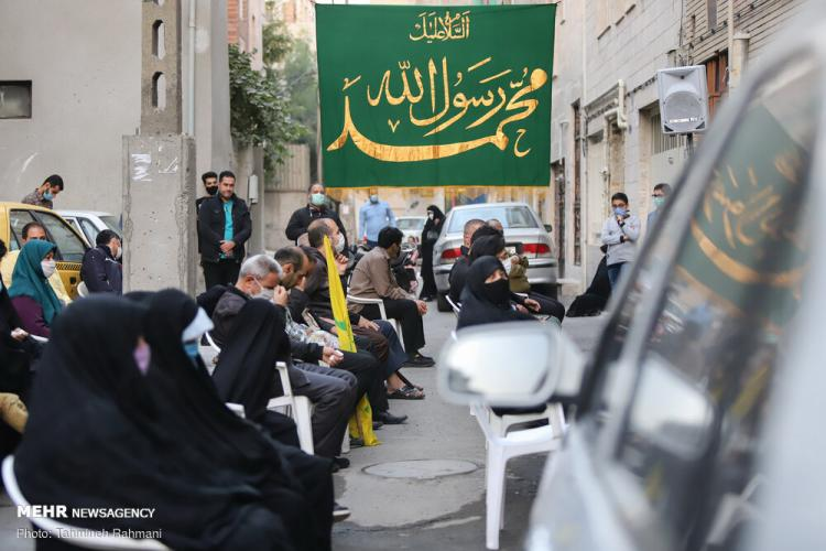 تصاویر جشن خیابانی میلاد پیامبر اکرم (ص),عکس های جشن برای حضرت محمد,تصاویر جشن برای حضرت امام صادق