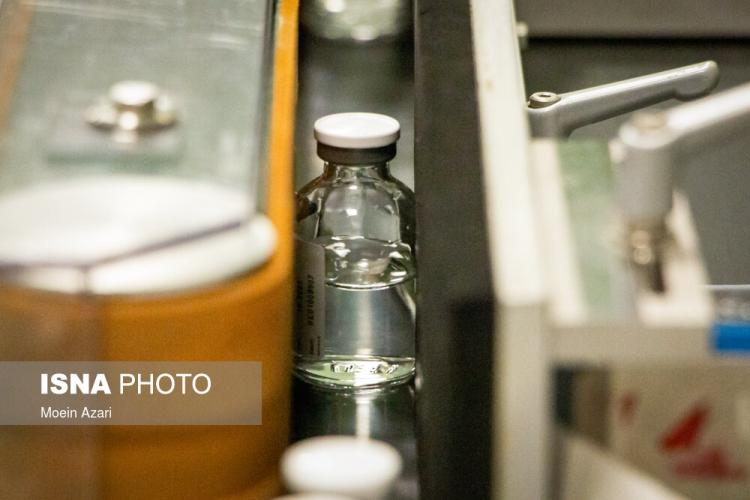 تصاویر تولید رمدسیویر در ایران,عکس های خط تولید داروی رمدسیویر در ایران,تصاویری از ساخت داروی رمدسیویر در ایران