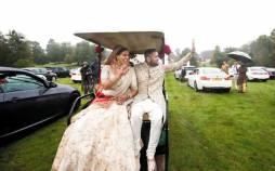 عروسی به سبک کرونایی در بریتانیا,اخبار جالب,خبرهای جالب,خواندنی ها و دیدنی ها