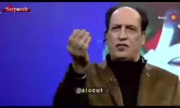 فیلم/ شیرجه بهمن هاشمی بر روی آنتن زنده هنگام خداحافظی!