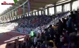 فیلم/ جشن بیعت با امام زمان در ورزشگاه امام رضا مشهد در اوج کرونا