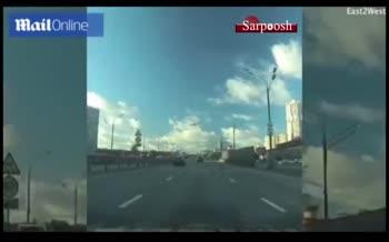 فیلم/ کشته شدن مجری تلویزیون روسیه در سقوط هواپیما