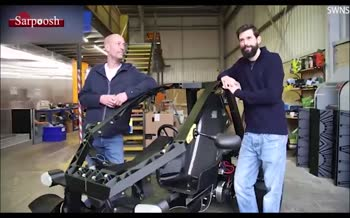 فیلم/ تولید خودروی برقی از مواد بازیافتی
