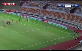 فیلم/ جملهای عجیب از گزارشگر بازی استقلال و فولاد خوزستان که سوژه شبکههای اجتماعی شد