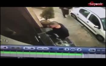 فیلم/ سرقت هولناک گردنبند طلا در فرمانیه تهران