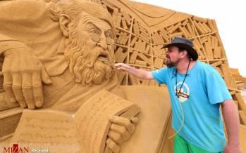 تصاویر جشنواره مجسمههای شنی در بلژیک,عکس های جشنواره مجسمههای شنی در بلژیک,تصاویری از جشنواره مجسمه شنی