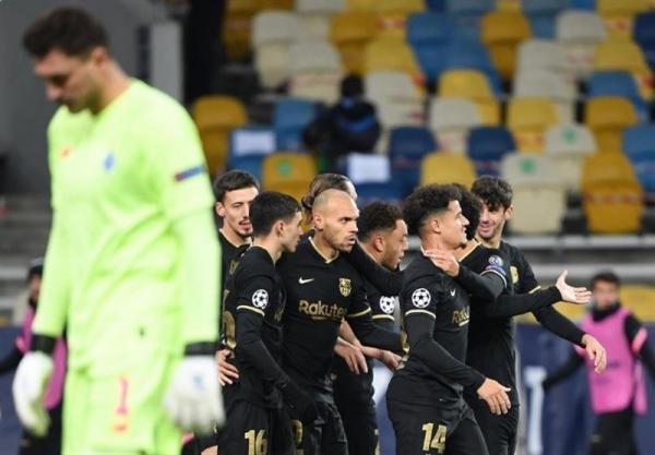 هفته چهارم رقابتهای لیگ قهرمانان اروپا