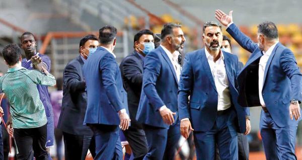 درگیری لفظی دیاباته و محمود فکری,اخبار فوتبال,خبرهای فوتبال,حواشی فوتبال