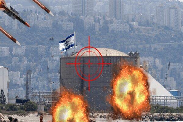 حمله ایران به بندر حیفا