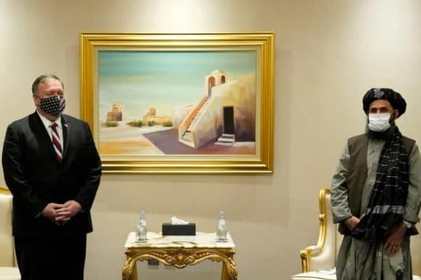 پامپئو و ملا عبدالغنی,اخبار افغانستان,خبرهای افغانستان,تازه ترین اخبار افغانستان