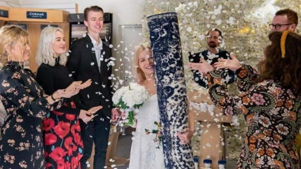 زنی با فرش خانه خود ازدواج کرد!