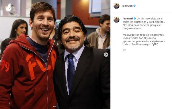 واکنشها به مرگ دیگو مارادونا