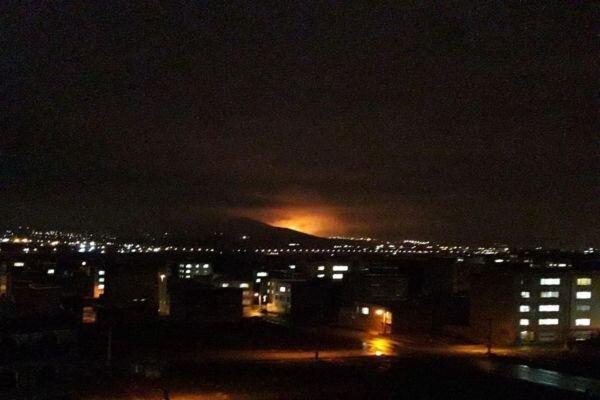 انفجار در سنندج