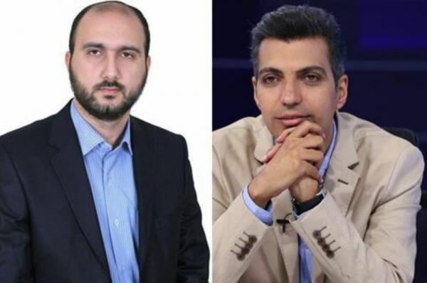 علی فروغی و عادل فردوسی پور