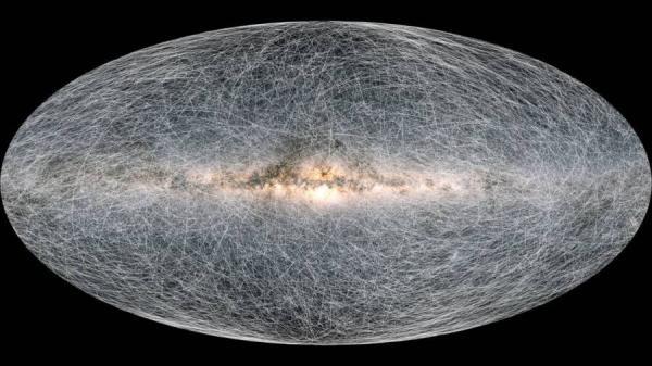 نقشه سه بعدی از کهکشان راه شیری