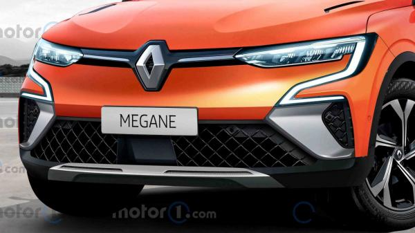 خودروی الکتریکی مگان ویژن