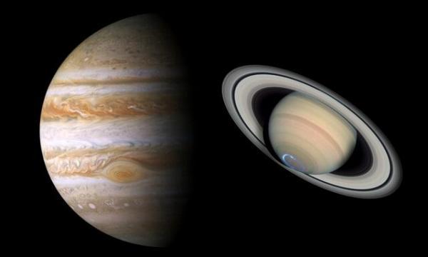 سیاره های مشتری وزحیل,اخبار علمی,خبرهای علمی,نجوم و فضا