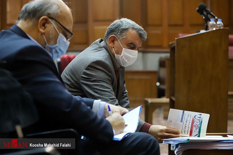 تصاویر نخستین جلسه رسیدگی به اتهامات پوری حسینی,عکس های دادگاه میر علی اشرف عبدالله پوری حسینی,تصاویر اولین جلسه دادگاه میر علی اشرف عبدالله پوری حسینی