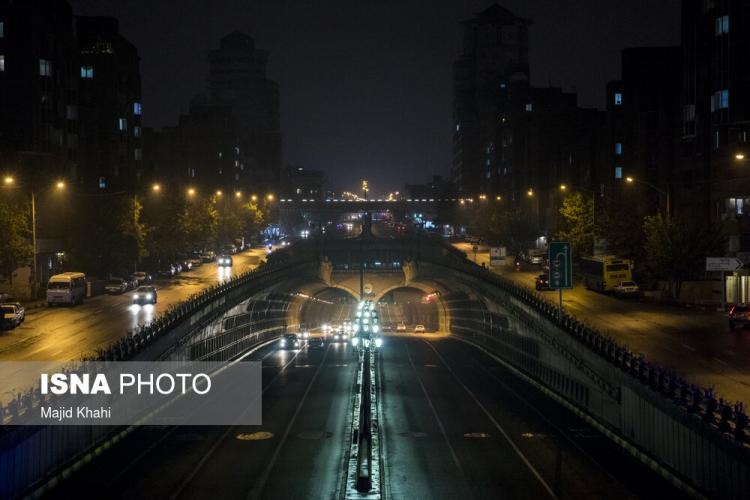 تصاویر محدودیت تردد در تهران,عکس های محدودیت تردد شبانه در تهران,تصاویر محدودیت های کرونایی در تهران