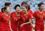 لیگ فوتبال بانوان در چین,باغث تیم بانوان چین به دلیل رنگ مو