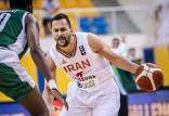 دیدار تیم ملی بسکتبال ایران و عربستان