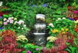 زیباترین باغ دنیا با گل های طبیعی در کانادا