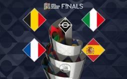 مرحله نیمه نهایی رقابتهای لیگ ملتهای اروپا